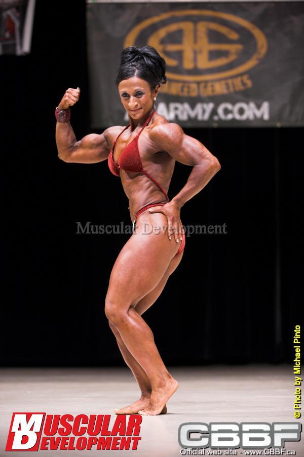 Muscular Development Muscle Magazine/Jane Garry + Mike Francois 11-94
