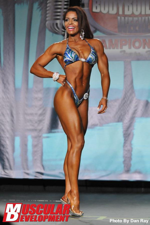 Ashley Maybin - Pro Bodybuilding Weekly Championships 2013