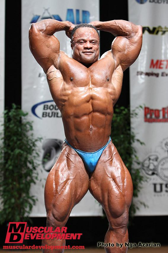 Silvio Samuel 2 weeks out from the Olympia