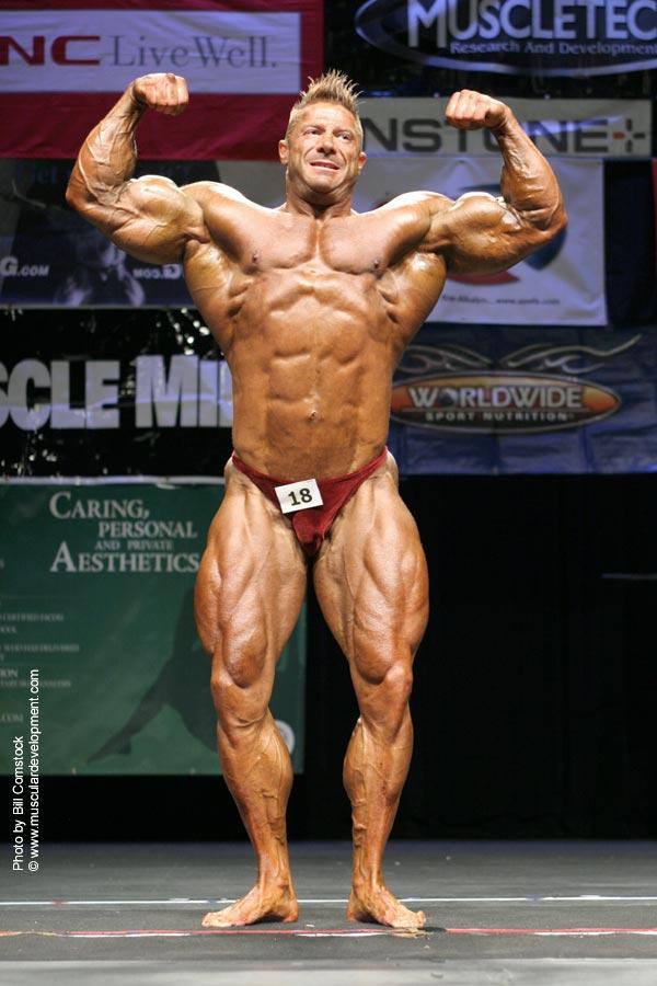 Ricky Welling - Blind pro bodybuilder