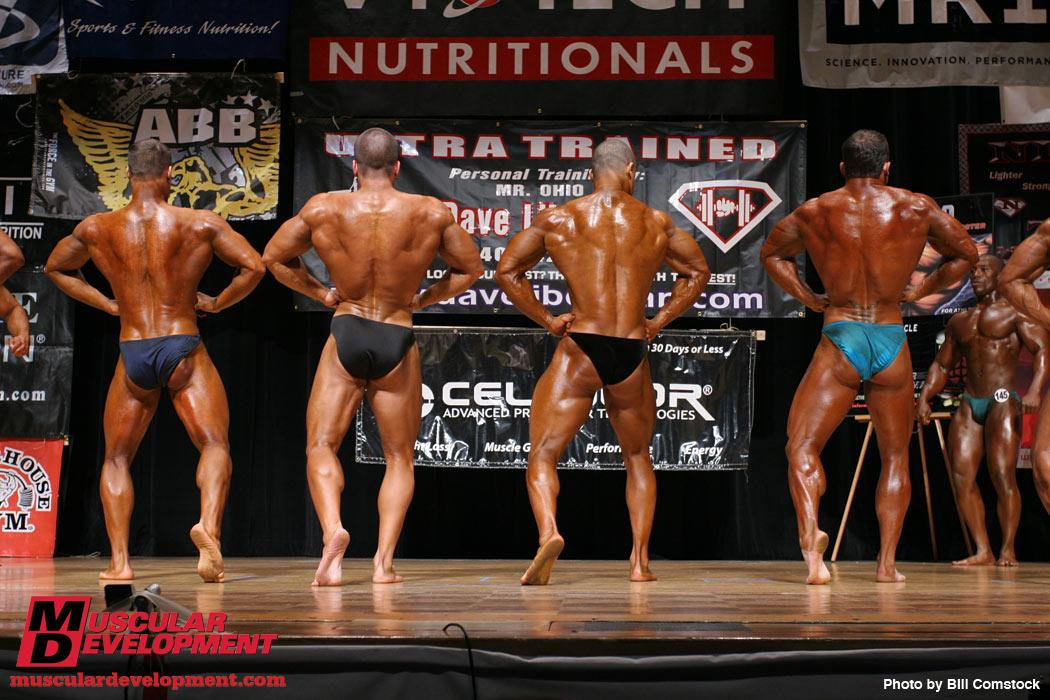 David Turk wins 2009 NPC Natural Ohio junior division, 2nd in LHW class