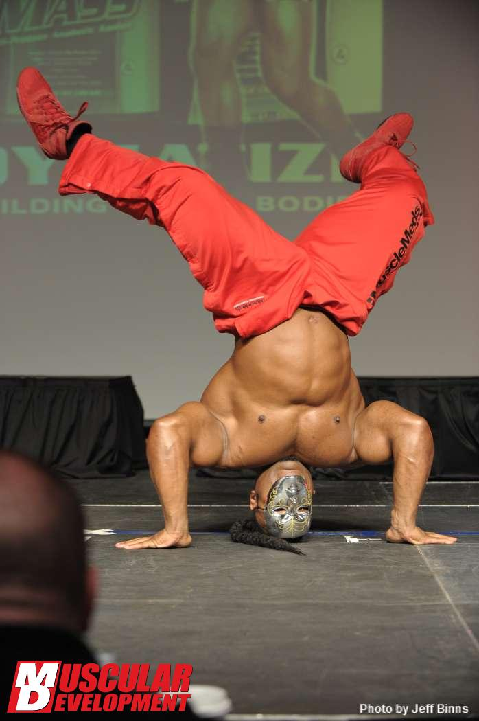 Kai Greene Guest Posing March 17th, 2012 at the St. Louis Pro