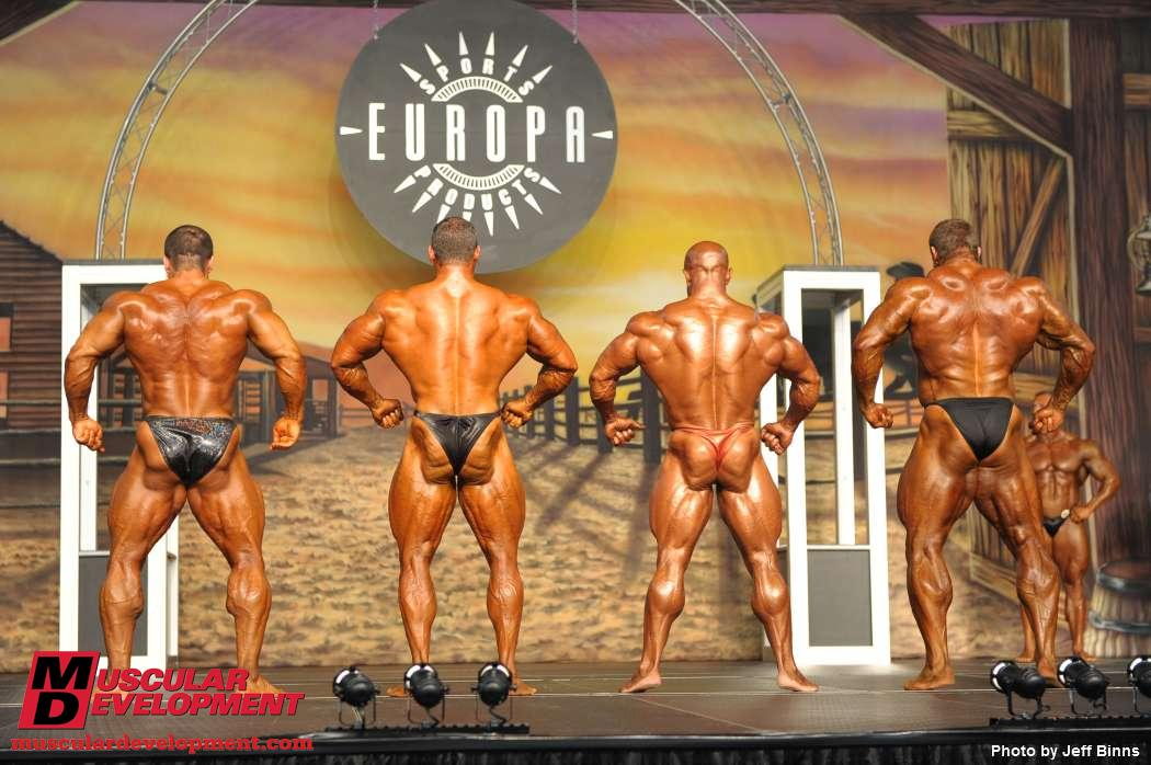 Mark Alvisi & Gaspari Nutrition vs the rest of the top 5 in the 2010 ESS
