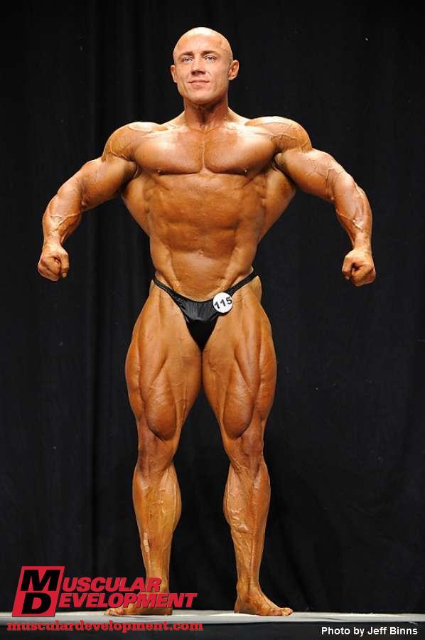 Vladimir Sizov bodybuilder NPC 2010 USA championships