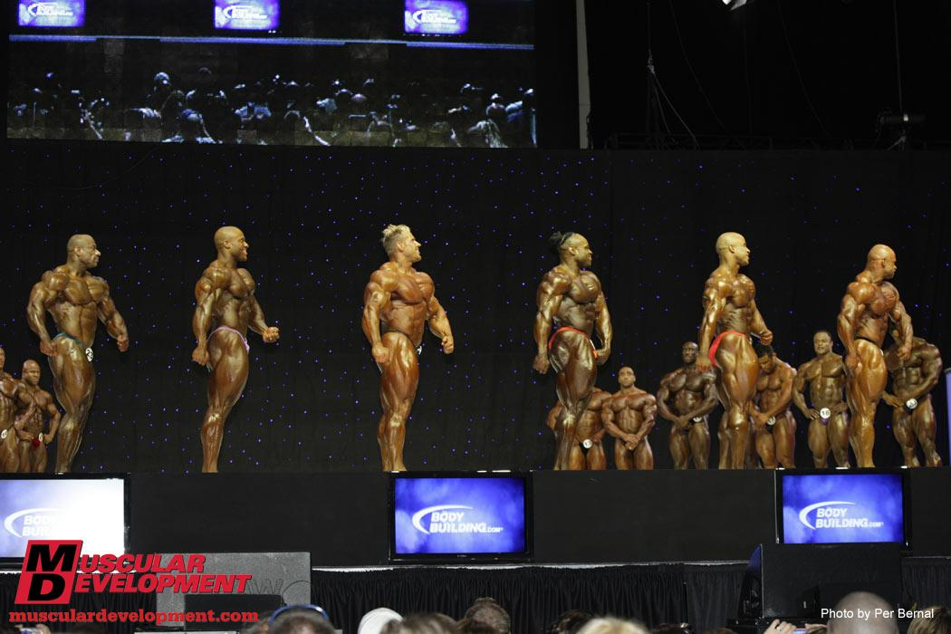 2009 Olympia - First call out comparisons!