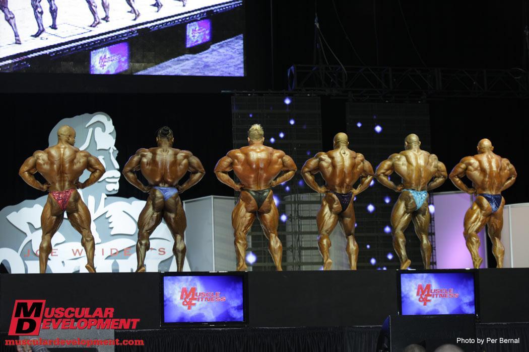 Olympia 2009 finals - top 6 comparisons!