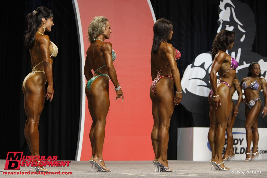 Fitness Olympia- Comparison pictures