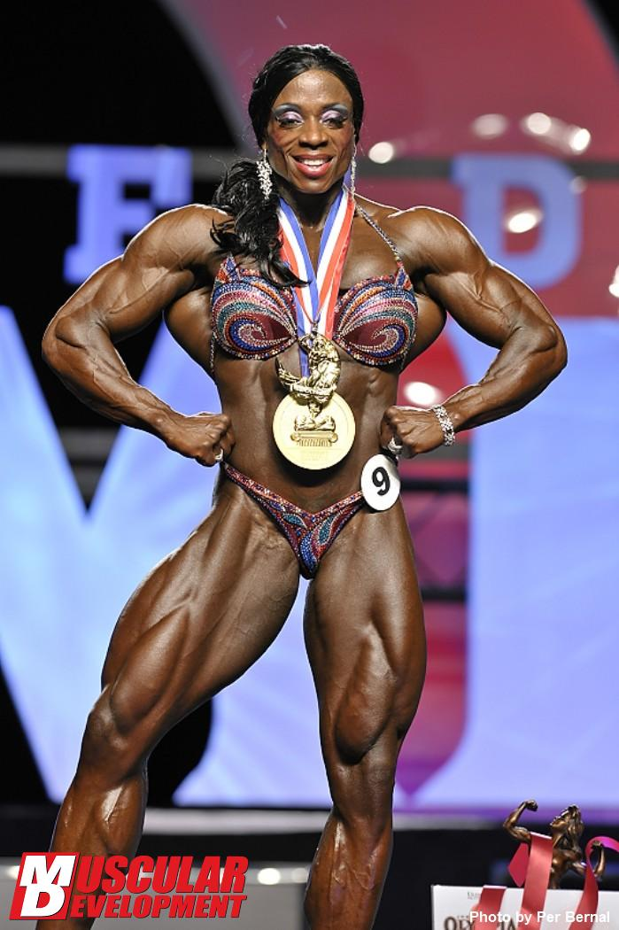 Iris Kyle - Mr Olympia Weekend - IFBB 2011