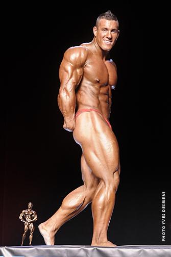 Antoine Vaillant second place
