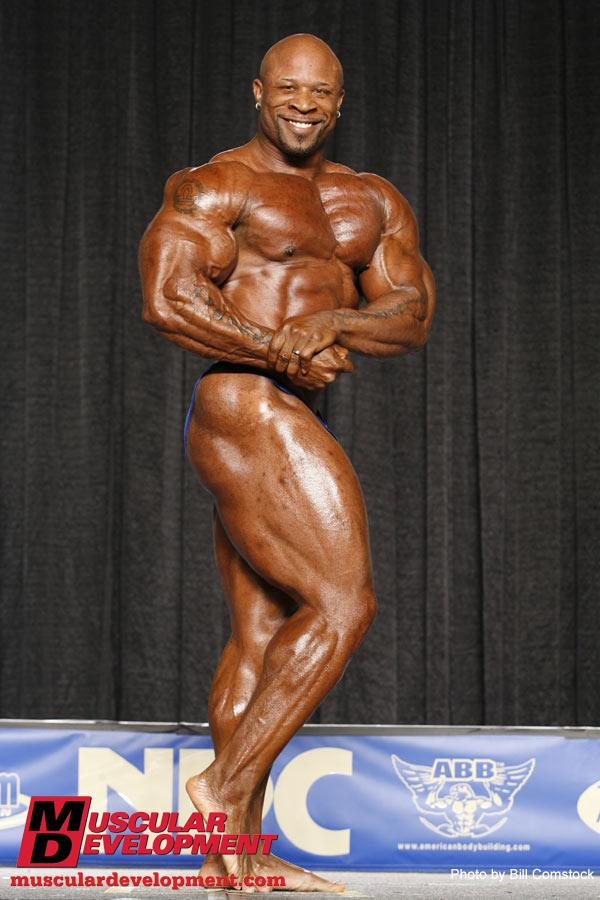 Marcus Haley guest posing at the Junior Nationals '09