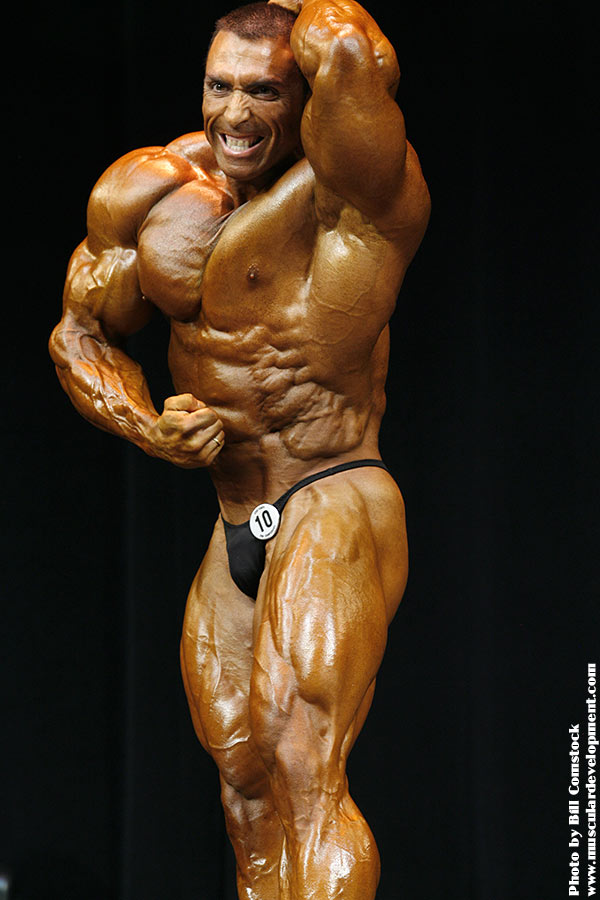 MARCOS CHACON 2 WEEKS OUT TAMPA PRO